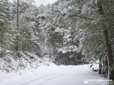 Valle de Iruelas - Pozo de nieve - Cerro de la Encinilla;navarra senderismo rutas a caballo en madri